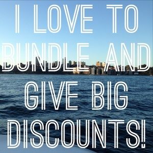 Other - 💸 WE LOVE GIVING BUNDLE DISCOUNTS!!! 💸